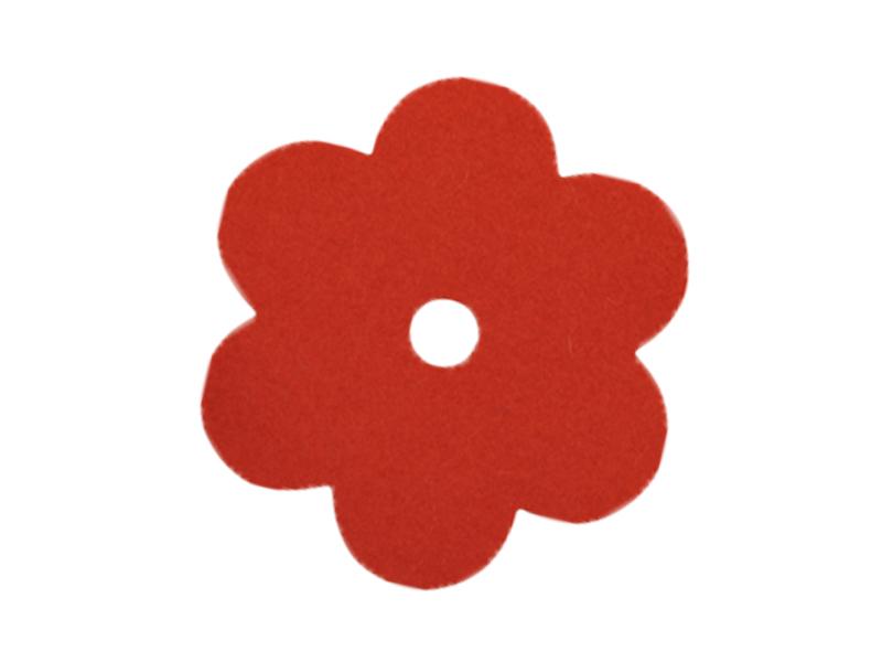 Filz-Motiv Blume