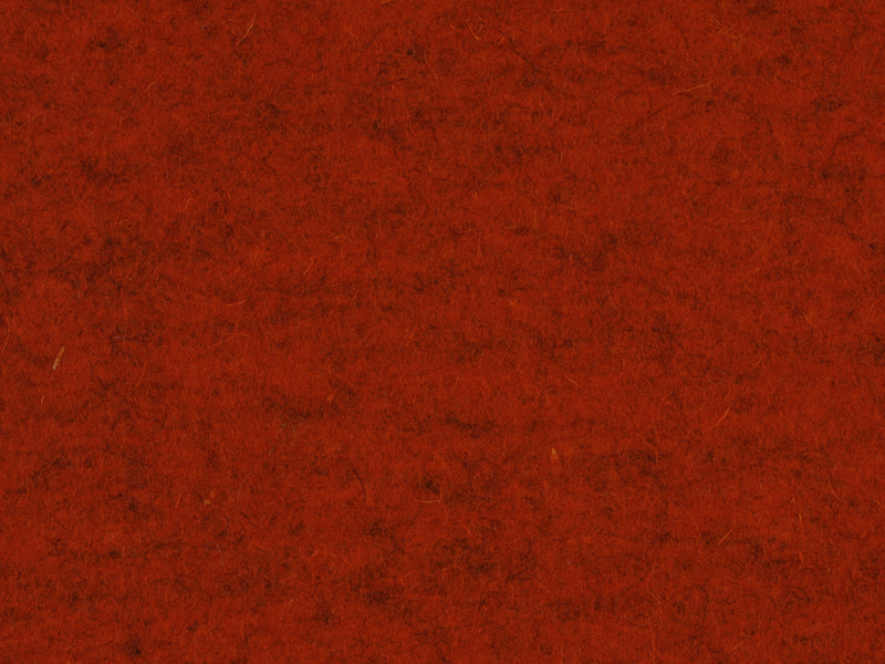 Filzrest 5mm, Rost 105, ca. 280x80 cm