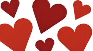 Filz-Motiv Herz