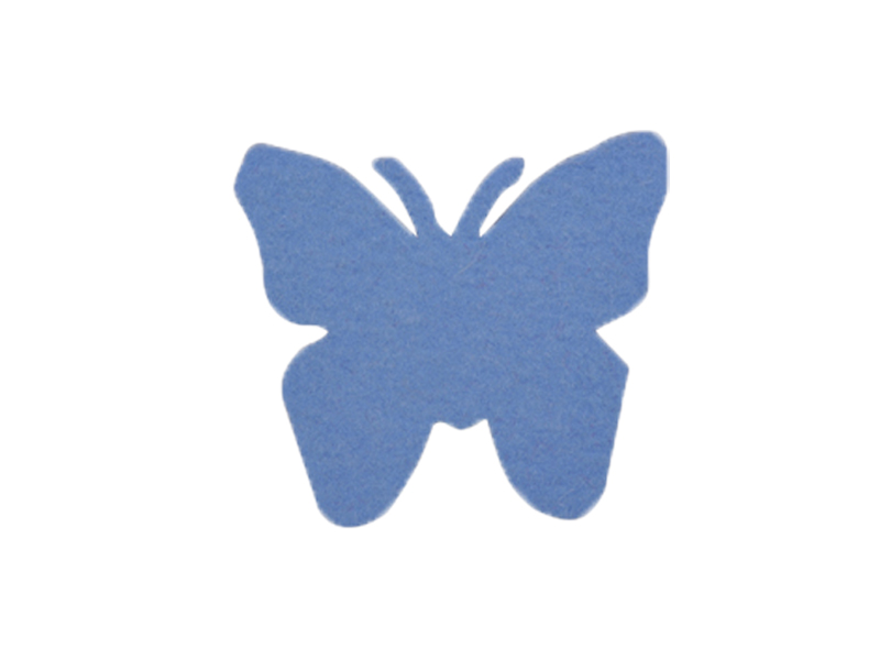 Filz-Motiv Schmetterling