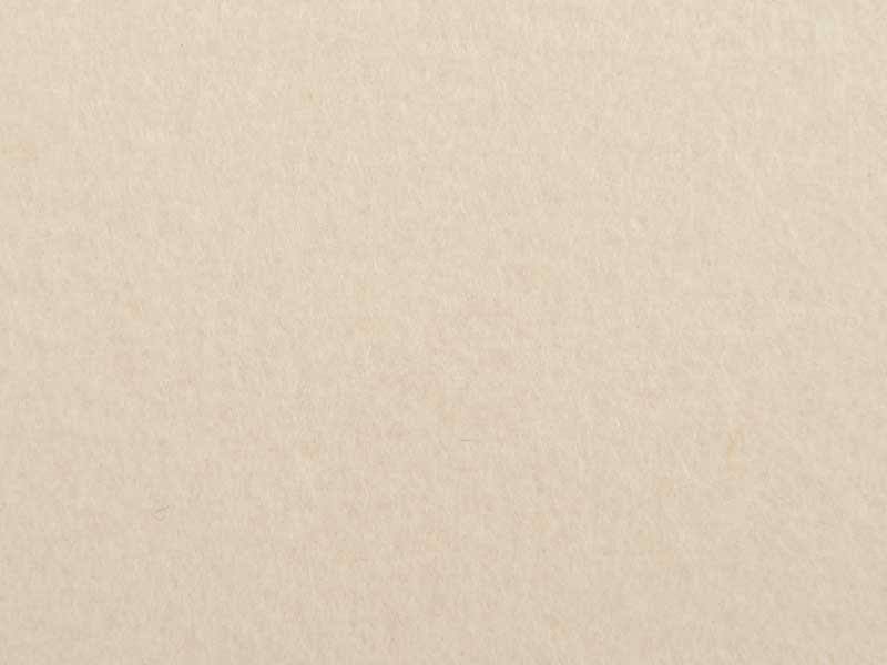 Filzrest 2mm, wollweiß 100, selbstklebend, ca. 120x50 cm