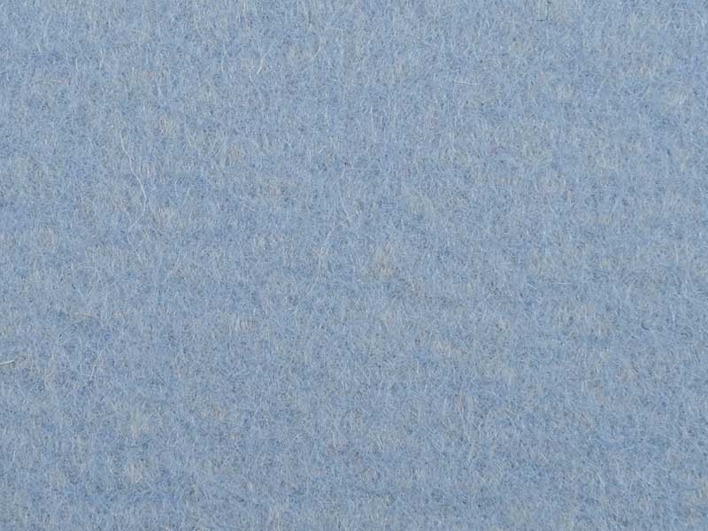 Filzrest 5mm, Himmelblau 284, ca. 180x60 cm